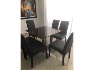 6 sillas de comedor , Puerto Rico