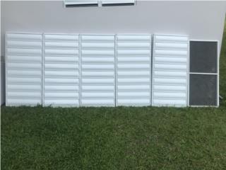 5 Ventanas 2x4 y screens , Puerto Rico