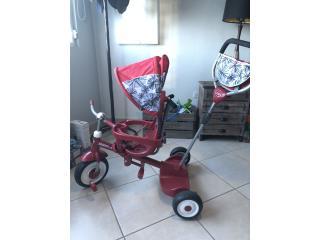 Triciclo Radio Flyer para dos niños, Puerto Rico