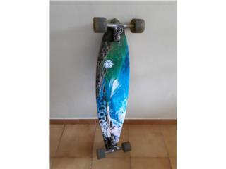 Añasco patineta longboard, Puerto Rico