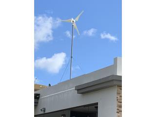 Molino de viento 400 watts, Puerto Rico