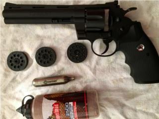 Colt Python 357 (balines), Puerto Rico