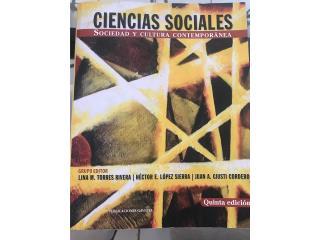 Libro Ciencias Sociales- universitario, Puerto Rico