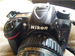 Nikon D 7200 lente 18-55, Puerto Rico