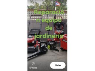 Equipo de jardinería, Puerto Rico