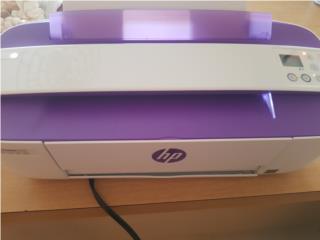 Printer HP, Todo en Uno, Blanco y Violeta, Puerto Rico