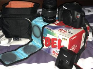 Camara Canon Rebel T5, Puerto Rico