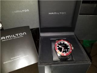 Reloj Hamilton , Puerto Rico