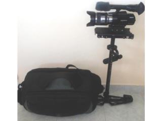 Sony NEX-VG20 con GideCam 4000 y Bulto, Puerto Rico
