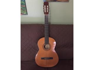 Guitarra española Palmer, hecha en España, Puerto Rico