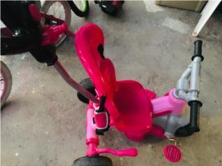 Carrito triciclo de niña, Puerto Rico