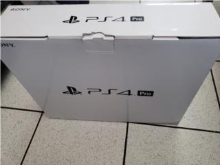 Ps4 pro en su caja, Puerto Rico