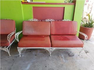 Juego de patio en hierro $125.00, Puerto Rico