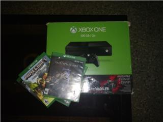 Xbox one 500gb + 14 juegos como nuevo, Puerto Rico