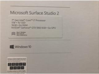 Surface Studio 2 i7/ 32/ 2tb ssd /gtx 1070, Puerto Rico