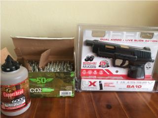UX-Umarex pistola pellets BB cobre nueva CO2 BB co, Puerto Rico