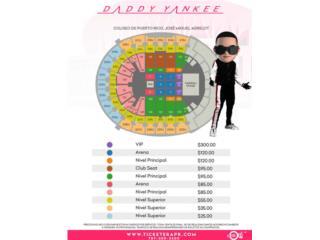 Daddy Yankee NIVEL PRINCIPAL 102 3ra fila, Puerto Rico