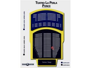 Comedia los HP en Ponce,2 asientos cerca de tarima, Puerto Rico