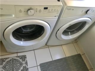 Lavadora y secadora electrica duo, Puerto Rico