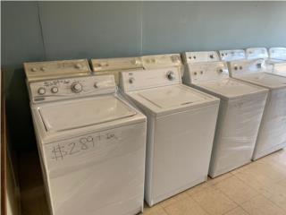 Venta de lavadoras análogas desde $289, Puerto Rico