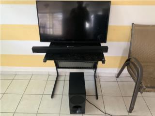 """Tv 40"""" con Equipo Surround System , Puerto Rico"""
