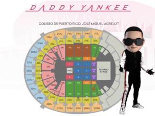 Taquilla concierto Daddy Yankee(27 dic), Puerto Rico