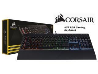 combo corsair mouse harpoon keyboard k55, Puerto Rico