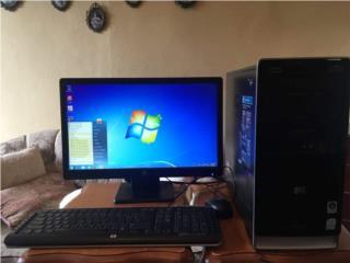 Vendo monitor, torre y teclado HP Pavillión , Puerto Rico