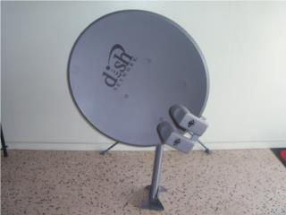 Antenna dish network, Puerto Rico