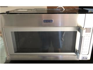 Microondas/Extractor Maytag Stainless Steel, Puerto Rico