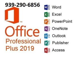 Office 2019/Adobe CC/CorelDraw/AutoCAD/SolidWorks, Puerto Rico