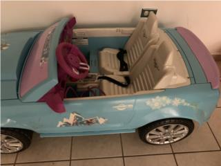Power wheels Ford Mustand frozen $80, Puerto Rico
