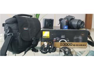 Nikon D3000 18-55 VR Kit, Puerto Rico