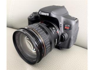 Camara Canon T6i con lente 24-85mm, Puerto Rico
