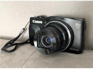 Camara Canon SX 710 HS, 20.3 MP, Puerto Rico