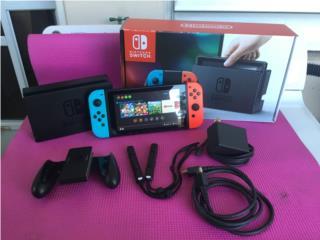 Nintendo Switch Como Nueva, Puerto Rico