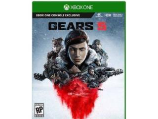 Gear of war 5 como nuevo $40, Puerto Rico