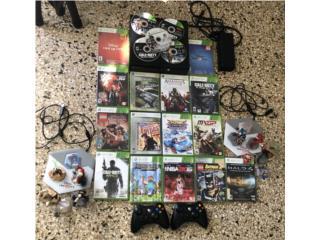 Xbox 360 con 20 juegos, Puerto Rico