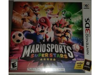 Juegos 3DS Mario Sports Super Stars, Puerto Rico