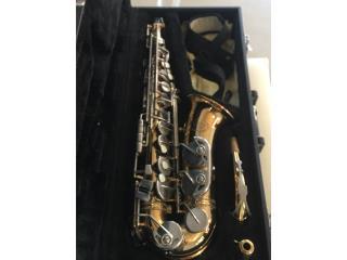Saxofón Alto marca jupitel, Puerto Rico