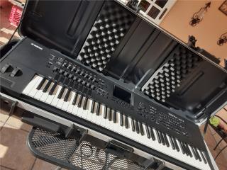 PIANO YAMAHA MOTIF XF 7 CON CASE SKB, Puerto Rico