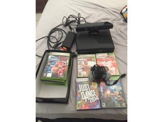 Xbox 360 + Kinect + 11 juegos, Puerto Rico