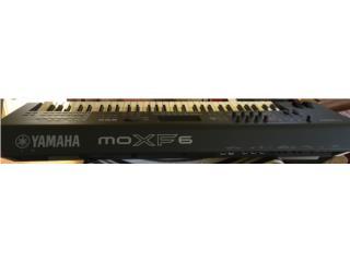 Teclado Yamaha MOXF6 , Puerto Rico