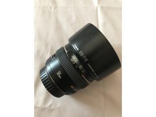 Canon Lens 50mm 1.4f + accesorios, Puerto Rico