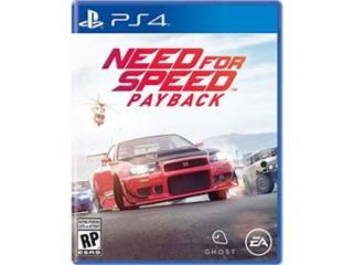 Need For Speed de Ps4, Puerto Rico