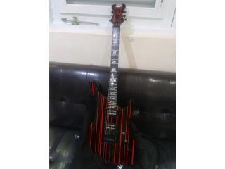 Guitarra Eléctrica Syn Gates Schecter a $500, Puerto Rico