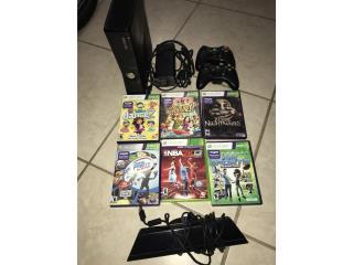 Xbox 360 kinect y juegos en buenas condiciones, Puerto Rico