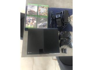 XBox One 365GB Hallo y forza Horizon 3 integrado, Puerto Rico