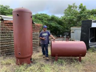 Tanque en acero  para aire comprimido de 250 galon, Puerto Rico