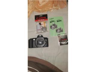Camara Canon SLR EOS Rebel XS Film, Puerto Rico